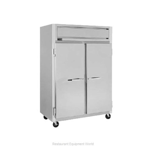 Randell 2420PE Pass-Thru Heated Cabinet 2 section