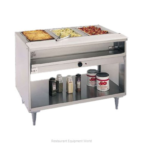 Randell 3313-208 Serving Counter Hot Food Steam Table Electric