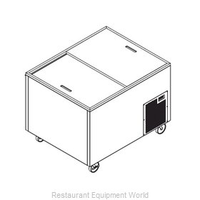 Randell 4939DWR-290 Chest Refrigerator