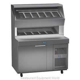 Randell 8148D Refrigerated Counter, Pizza Prep Table
