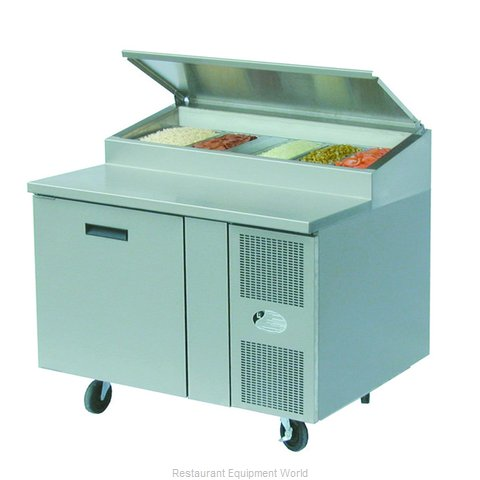 Randell 8148N Refrigerated Counter, Pizza Prep Table
