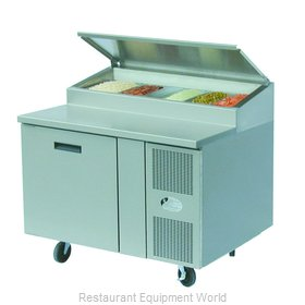 Randell 8148NPCB Refrigerated Counter, Pizza Prep Table