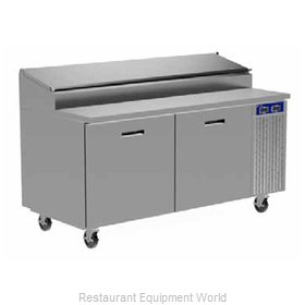 Randell 8260N-290-PCB Refrigerated Counter, Pizza Prep Table