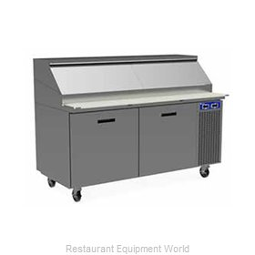 Randell 8268W-290 Refrigerated Counter, Pizza Prep Table