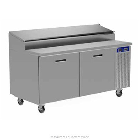 Randell 8395N-290-PCB Refrigerated Counter, Pizza Prep Table