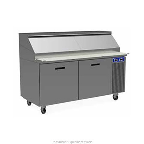 Randell 8395W-290 Refrigerated Counter, Pizza Prep Table
