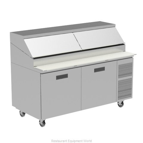 Randell 8395W Refrigerated Counter, Pizza Prep Table