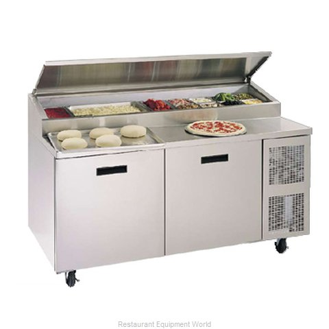 Randell 84111NPCB Refrigerated Counter, Pizza Prep Table