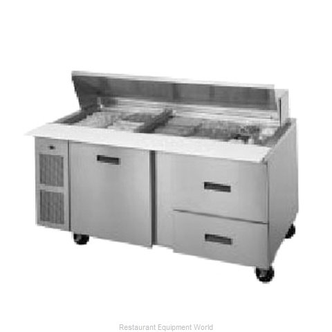 Randell 9050K-513 Refrigerated Counter, Mega Top Sandwich / Salad Unit