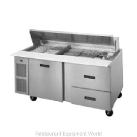 Randell 9050K-7 Refrigerated Counter, Sandwich / Salad Top