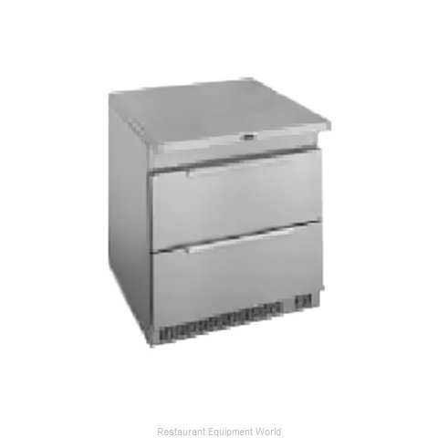 Randell 9404-32D-7 Reach-in Undercounter Refrigerator 1 section