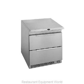 Randell 9404F-32-7 Reach-In Undercounter Freezer 1 section