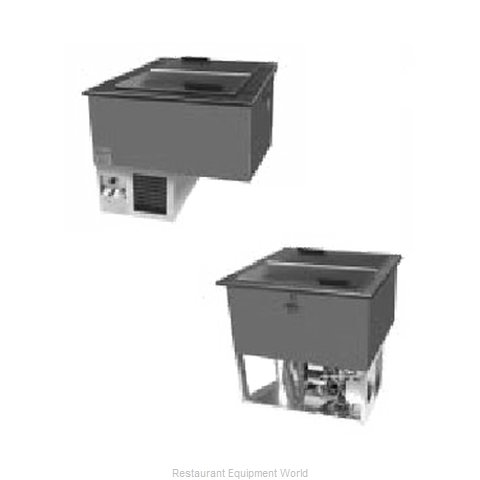 Randell 9552-290 Ice Cream Dipping Cabinet, Drop-In