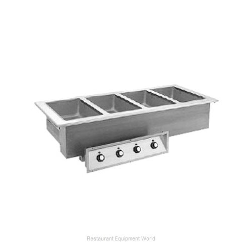 Randell 9560-4AWF Hot Food Well Unit Electric Drop-In Top Mount