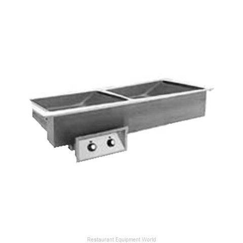 Randell 95602N-120Z Hot Food Well Unit Electric Drop-In Top Mount