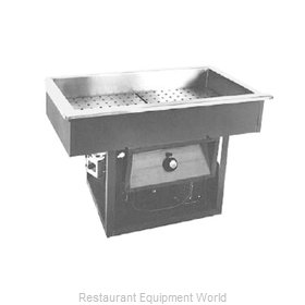 Randell 95802-208Z Hot / Cold Food Well Unit, Drop-In, Electric