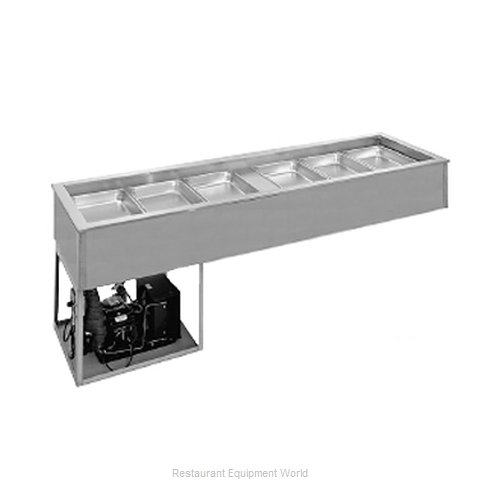 Randell 9918SCA Cold Food Well Unit, Drop-In, Refrigerated