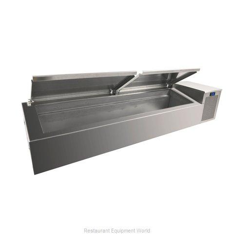 Randell CR9060-290 Refrigerated Countertop Pan Rail