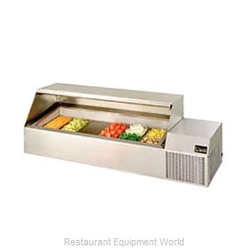 Randell CR9074 Refrigerated Countertop Pan Rail