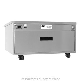 Randell FX-1CSRE Refrig/Freezer, Counter, Griddle Stand
