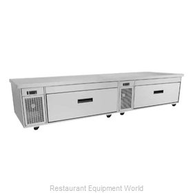 Randell FX-2CS Equipment Stand, Refrigerated / Freezer Base