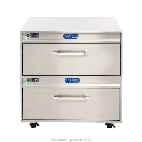 Randell FX-2WSRE-290 Refrigerator Freezer, Convertible