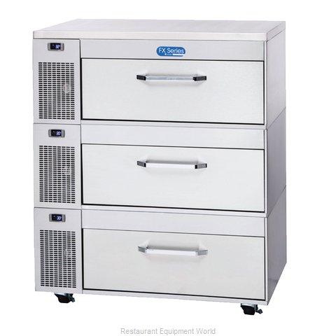 Randell FX-3SS-290 Refrigerator Freezer, Convertible