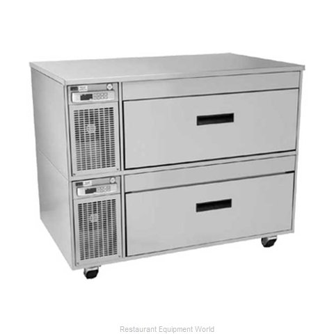Randell FX2-4N1WSB Refrigerator Freezer, Convertible (Magnified)