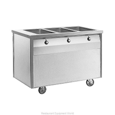 Randell RAN HTD-3 Serving Counter Hot Food Steam Table Electric