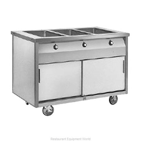 Randell RAN HTD-3B Serving Counter Hot Food Steam Table Electric