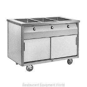 Randell RAN HTD-3B Serving Counter, Hot Food, Electric