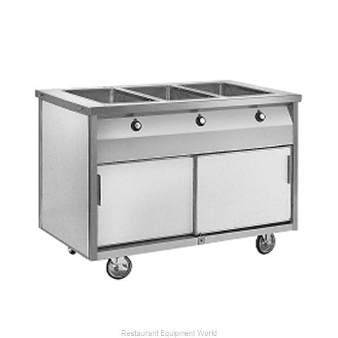 Randell RAN HTD-3S Serving Counter Hot Food Steam Table Electric
