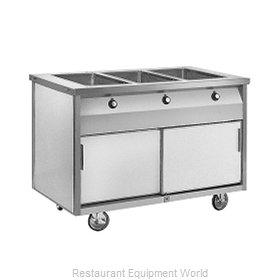 Randell RAN HTD-3S Serving Counter, Hot Food, Electric