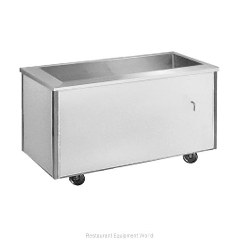 Randell RAN IC-4 Serving Counter Cold Pan Salad Buffet