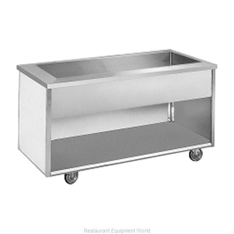 Randell RAN IC-6S Serving Counter Cold Pan Salad Buffet