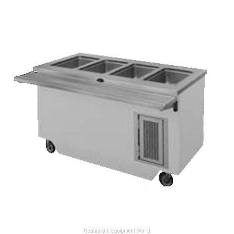 Randell RANFG HTD-4 Serving Counter Hot Food Steam Table Electric