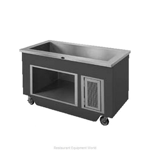 Randell RANFG IC-4 Serving Counter Cold Pan Salad Buffet
