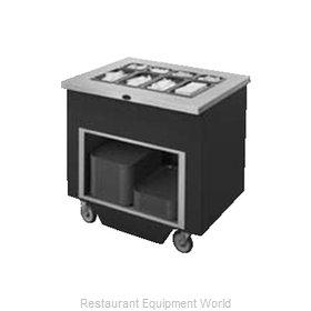 Randell RANFG SW-12 Flatware & Tray Cart