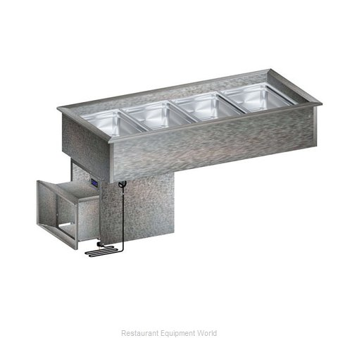 Randell RCP-3N Cold Food Well Unit, Drop-In, Refrigerated