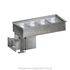 Randell RCP-4N Cold Food Well Unit, Drop-In, Refrigerated