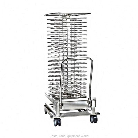 Rational 60.21.294 Plate Rack, Mobile (Magnified)
