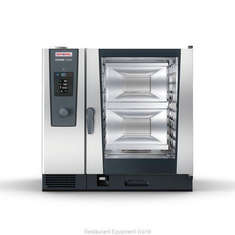 Rational ICC 10-FULL LP 208/240V 1 PH (LM200EG) Combi Oven, Gas