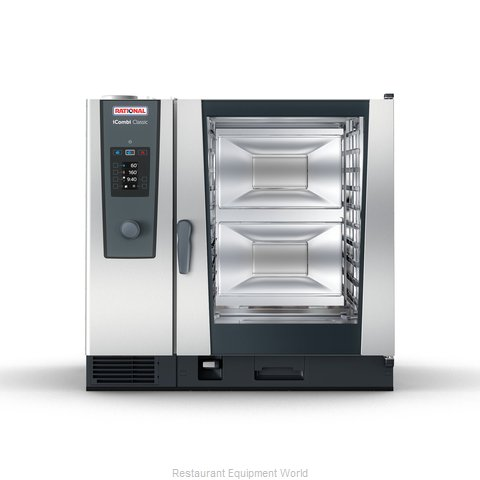 Rational ICC 10-FULL NG 208/240V 1 PH (LM200EG) Combi Oven, Gas