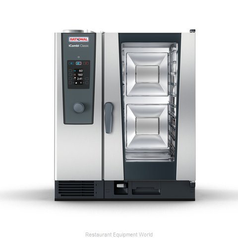 Rational ICC 10-HALF NG 208/240V 1 PH (LM200DG) Combi Oven, Gas