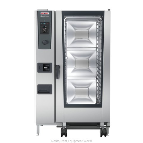 Rational ICC 20-FULL E 208/240V 3 PH (LM200GE) Combi Oven, Electric