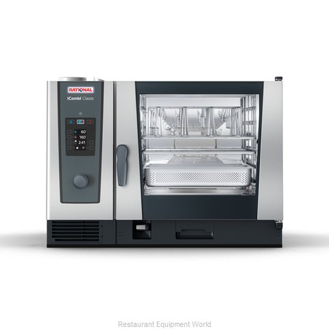 Rational ICC 6-FULL E 208/240V 3 PH (LM200CE) Combi Oven, Electric