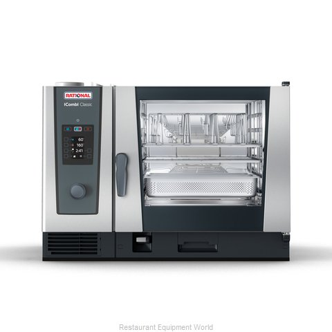 Rational ICC 6-FULL NG 208/240V 1 PH (LM200CG) Combi Oven, Gas