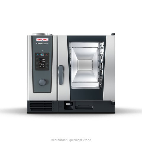 Rational ICC 6-HALF E 208/240V 1 PH (LM200BE) Combi Oven, Electric