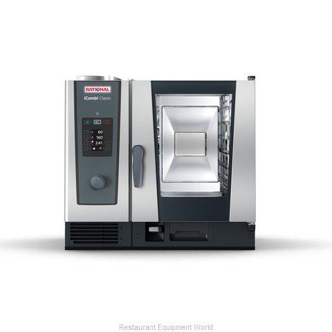 Rational ICC 6-HALF LP 120V 1 PH (LM200BG) Combi Oven, Gas