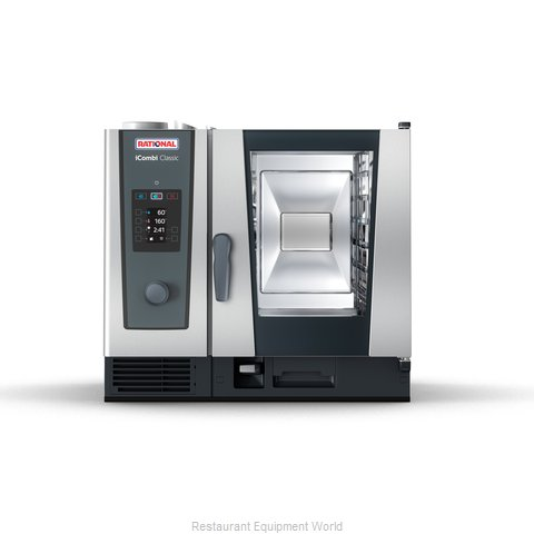 Rational ICC 6-HALF NG 208/240V 1 PH (LM200BG) Combi Oven, Gas
